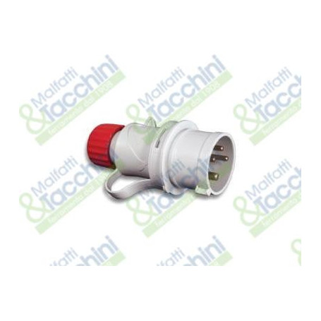 SPINA ROSSA IP44 3P+T 16A